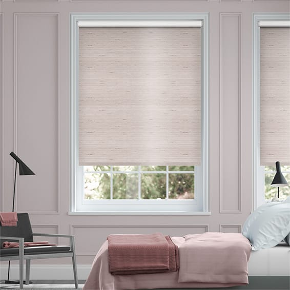 Choices Dupioni Faux Silk Mink Blackout Roller Blind