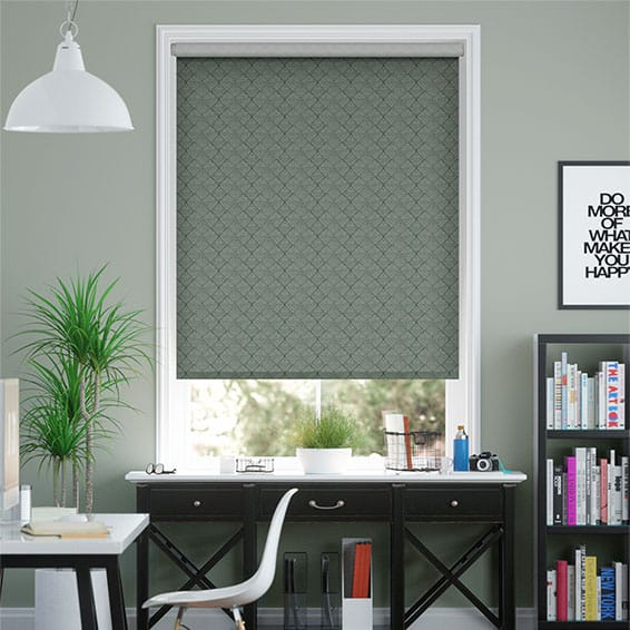 Choices Elysee Kingfisher Roller Blind