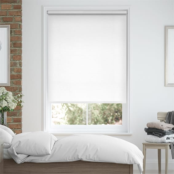Choices Felicity True White Roller Blind