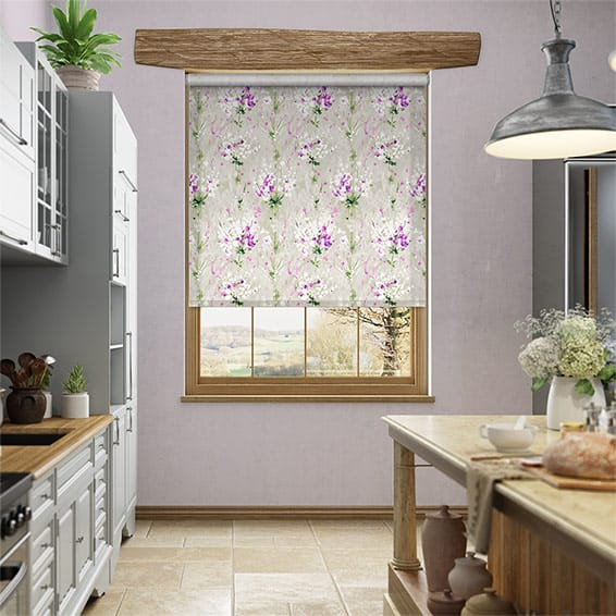 Choices Jackson Linen Berry Roller Blind
