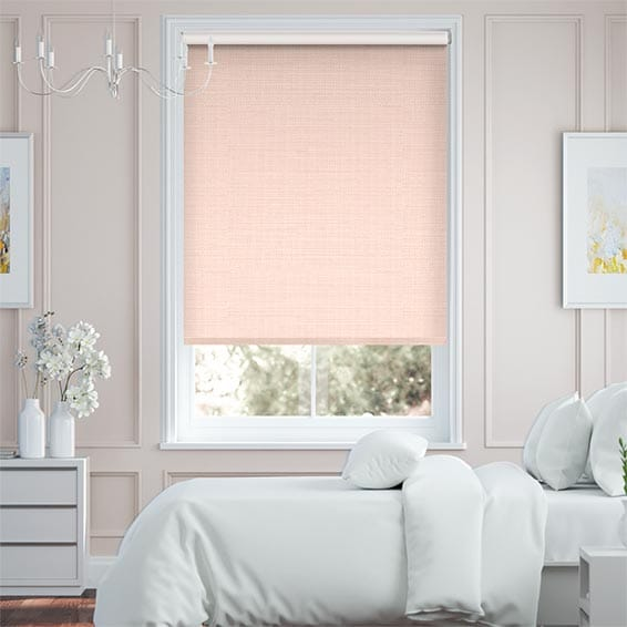 Choices Leyton Pale Pink Roller Blind