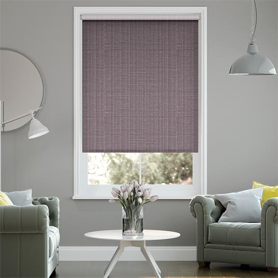 Choices Leyton Royal Purple Roller Blind