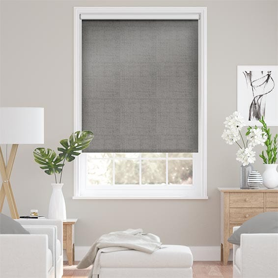 Choices Luster Glacier Grey  Roller Blind