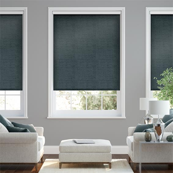 Choices Luster Twilight Blue  Roller Blind