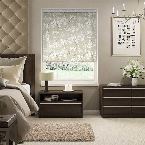 Choices Madelyn Velvet Chalk White Roller Blind