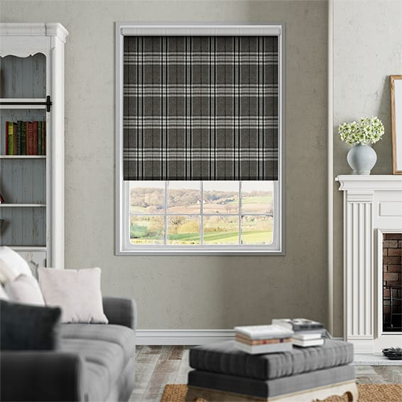 Choices Madras Monochrome Roller Blind