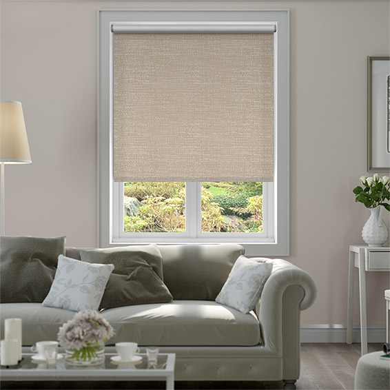 Choices Mallay Wicker Brown Roller Blind