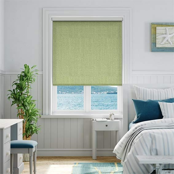 Choices Paleo Linen Spring Green Roller Blind