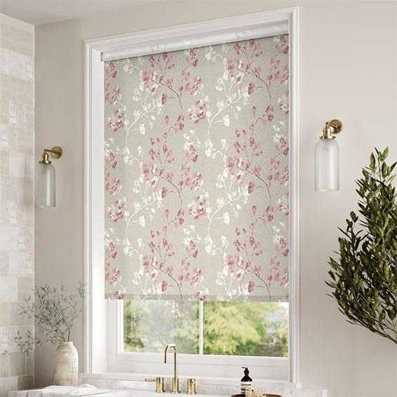 Choices Renaissance Linen Blush Pink Roller Blind