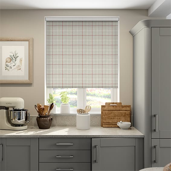 Choices Washington Crimson Roller Blind