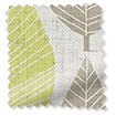 Choices Winter Leaf Linen Spring Green Roller Blind slat image