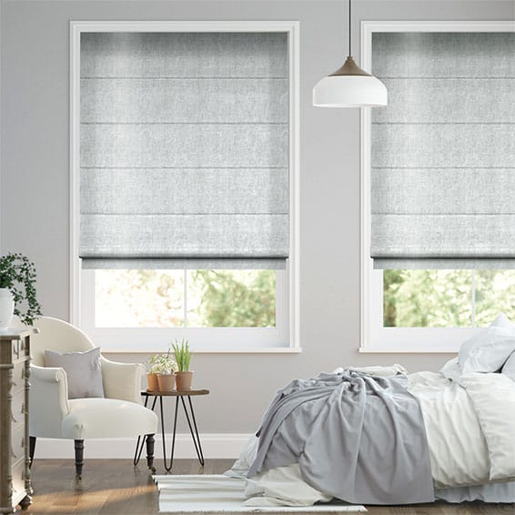 Clarence Cool Mist Roman Blind