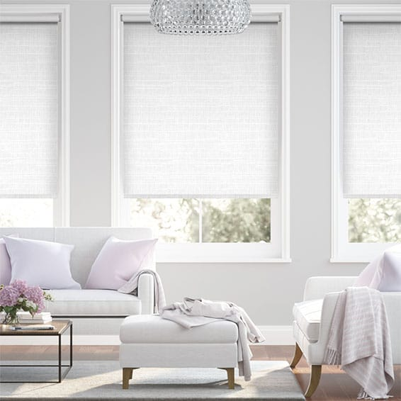 Concordia Bright White Blackout Roller Blind