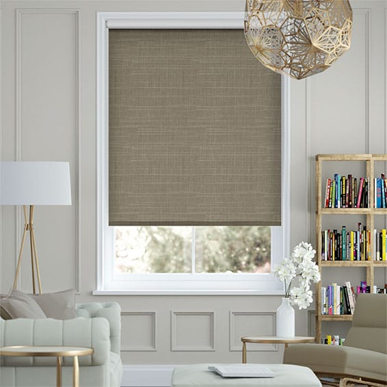 Concordia Cocoa Blackout Roller Blind