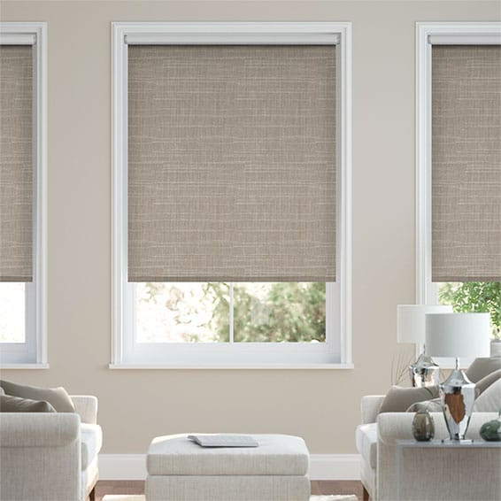 Concordia Taupe Blackout Roller Blind