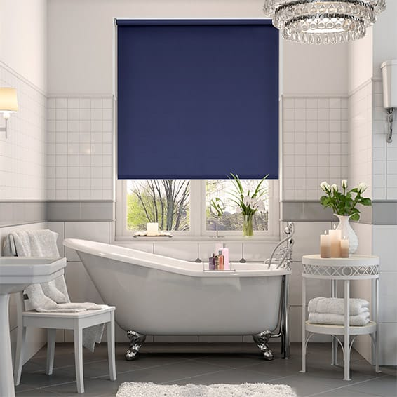 Cordoba Cosmic Blue Blackout Roller Blind