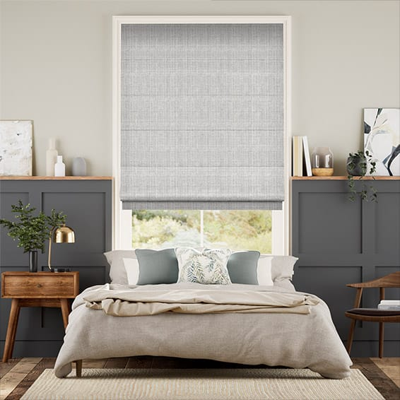 Cotswold Soft Grey Roman Blind