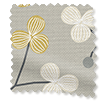 Country Blossom Ashen Gold Roller Blind slat image