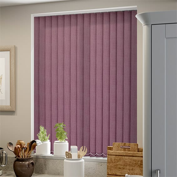 Covent Plum Vertical Blind