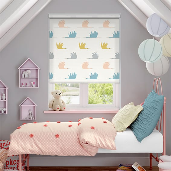 Colin Crane Blush Roller Blind
