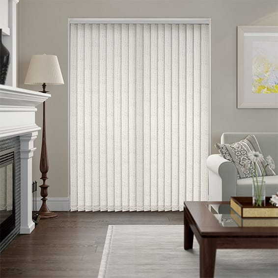 Cypress Pearl Vertical Blind