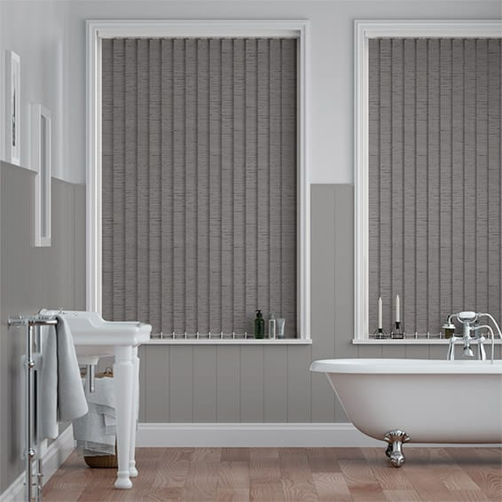 Dartford Smoke Vertical Blind