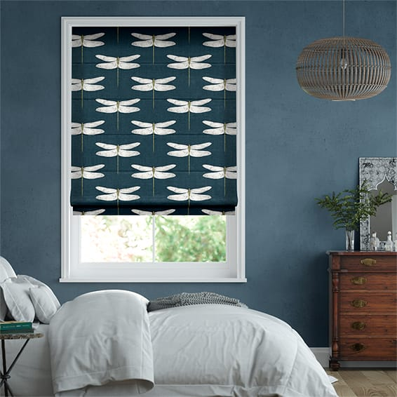 Demoiselle Ink Roman Blind