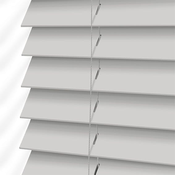 Dove Suave Faux Wood Blind 50mm Slat