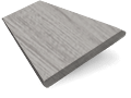 Dover Grey Faux Wood Blind - 50mm Slat slat image