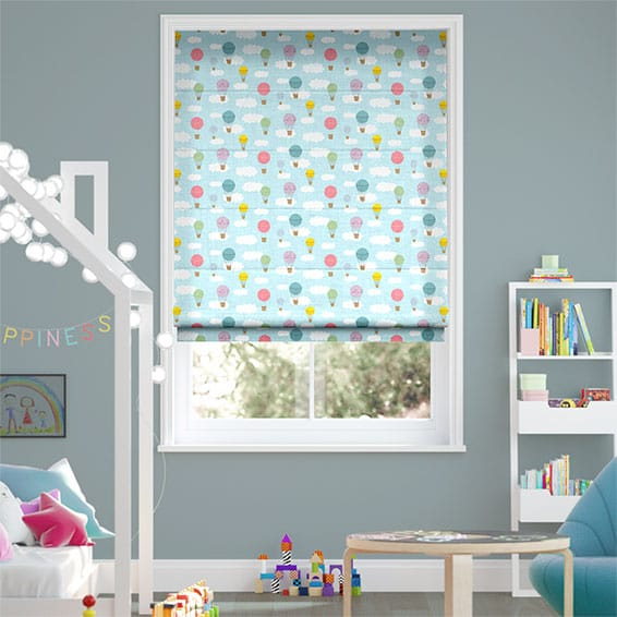 Drifting Skies Roman Blind