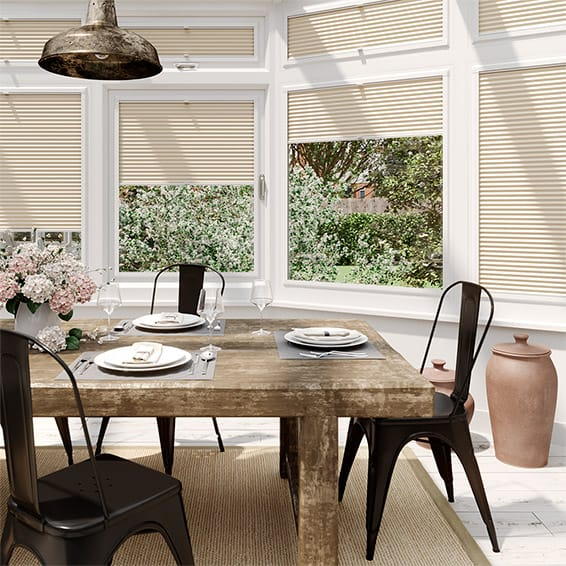 DuoLight Almond PerfectFIT Thermal Blind