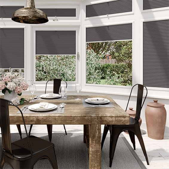 DuoLight Anthracite  PerfectFIT Thermal Blind