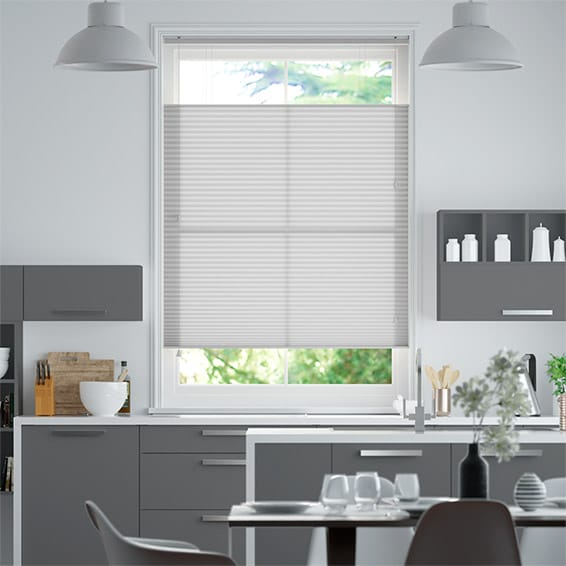 DuoLight Ash Grey  Top Down/Bottom Up Thermal Blind