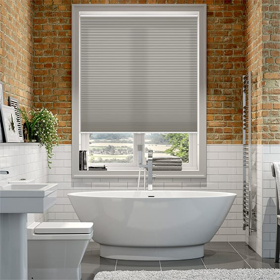 DuoLight Cordless Gainsboro Grey Thermal Blind