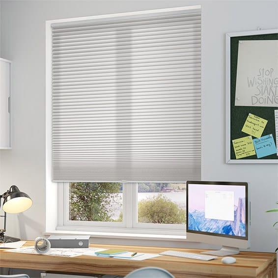 Duolight Cordless Grey Thermal Blind