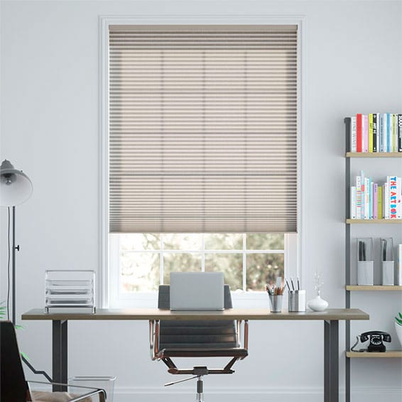 DuoLight Cordless Linen Cocoa Thermal Blind