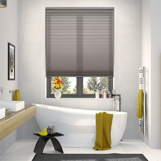 DuoLight Cordless Pewter Thermal Blind