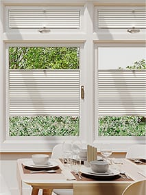 Conservatory blinds pleated easifit perfectfit blinds duolight cotton thumbnail image solutioingenieria Image collections