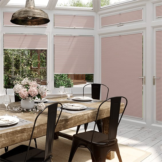 DuoLight Dusky Pink EasiFIT Thermal Blind