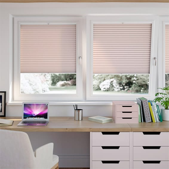 DuoLight Dusky Pink PerfectFIT Thermal Blind