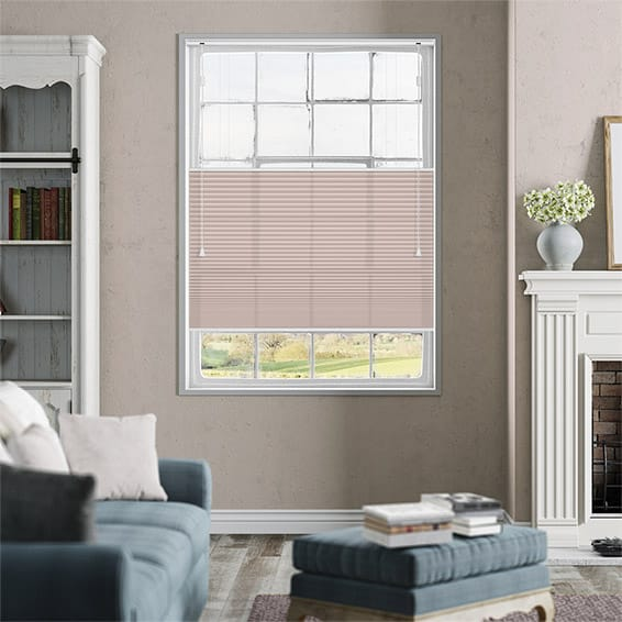 DuoLight Dusky Pink Top Down/Bottom Up Thermal Blind