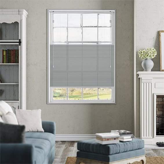 DuoLight Nickel Grey Top Down/Bottom Up Thermal Blind