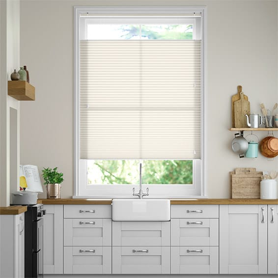 DuoLight Pale Cream Top Down/Bottom Up Thermal Blind