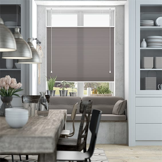 DuoLight Pewter Top Down/Bottom Up Thermal Blind