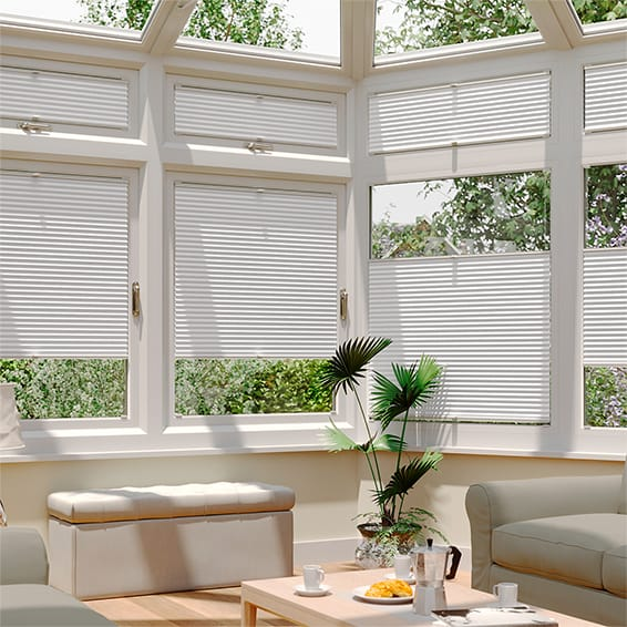 DuoLight Bright White EasiFIT Thermal Blind