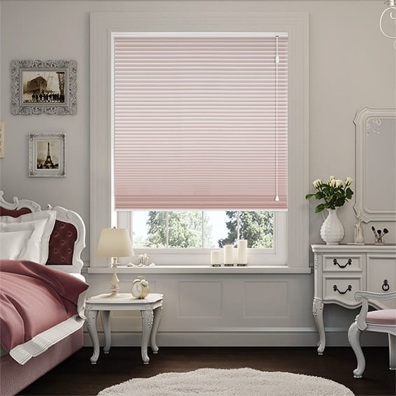 DuoShade Pink Blush Thermal Blind