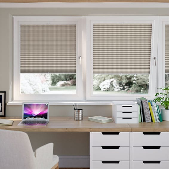 DuoShade Basket Weave PerfectFIT Thermal Blind