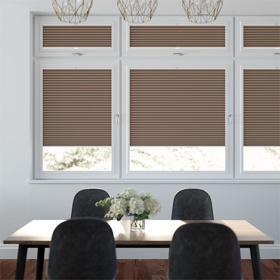 DuoShade Chocolate PerfectFIT Thermal Blind