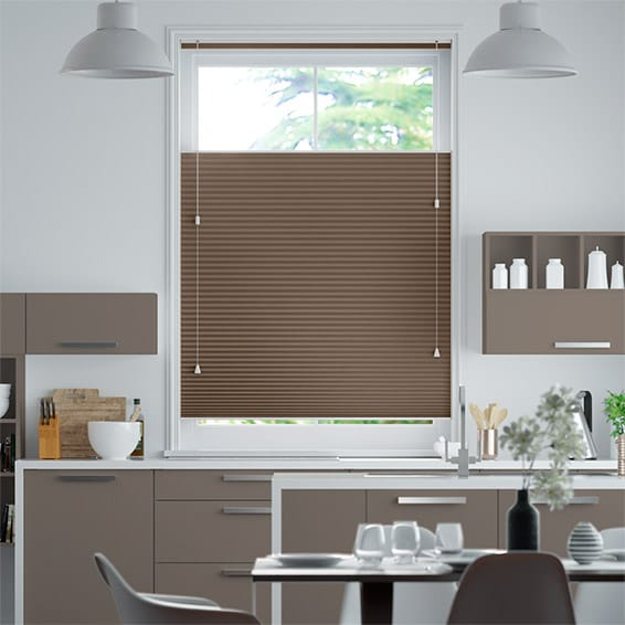 DuoShade Chocolate Top Down/Bottom Up Thermal Blind