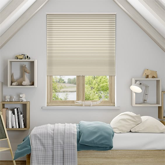 DuoShade Cordless Beige Thermal Blind